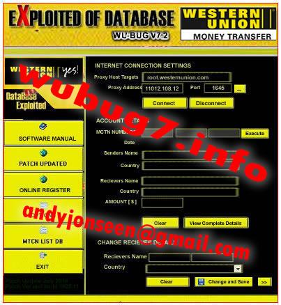 Western Union Theft Tool | WU Bug 7 2