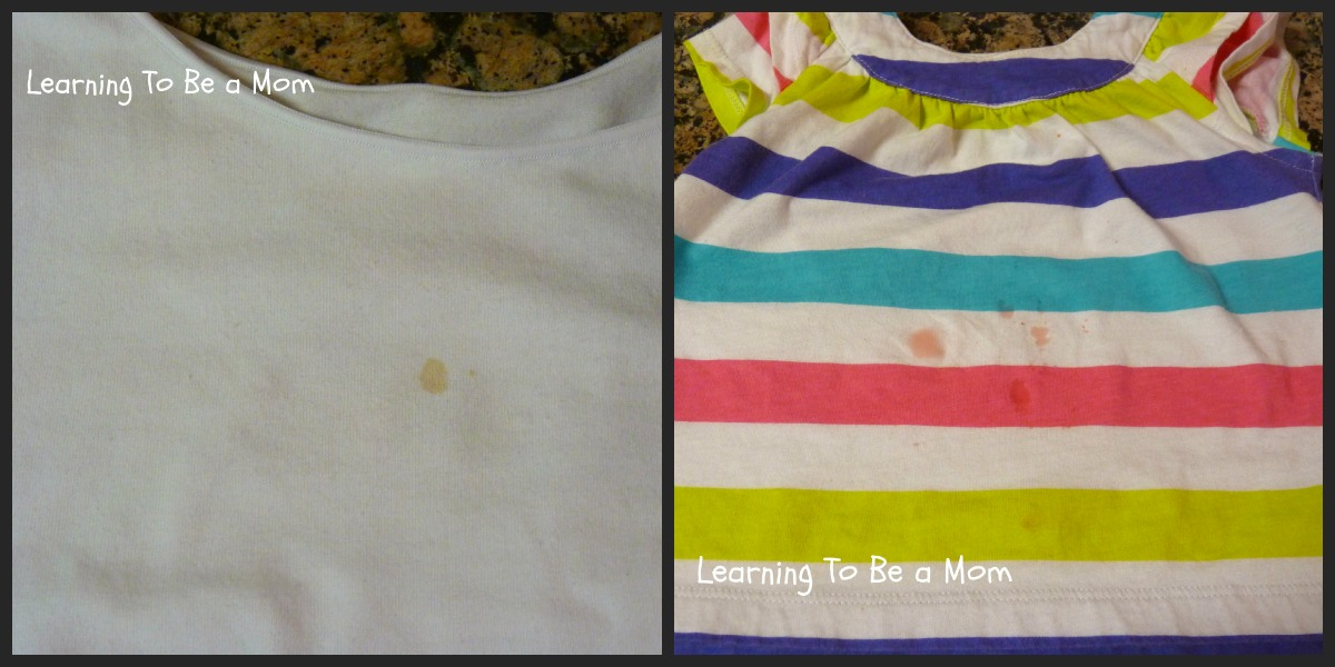 Baby Spit Up Stain Remover