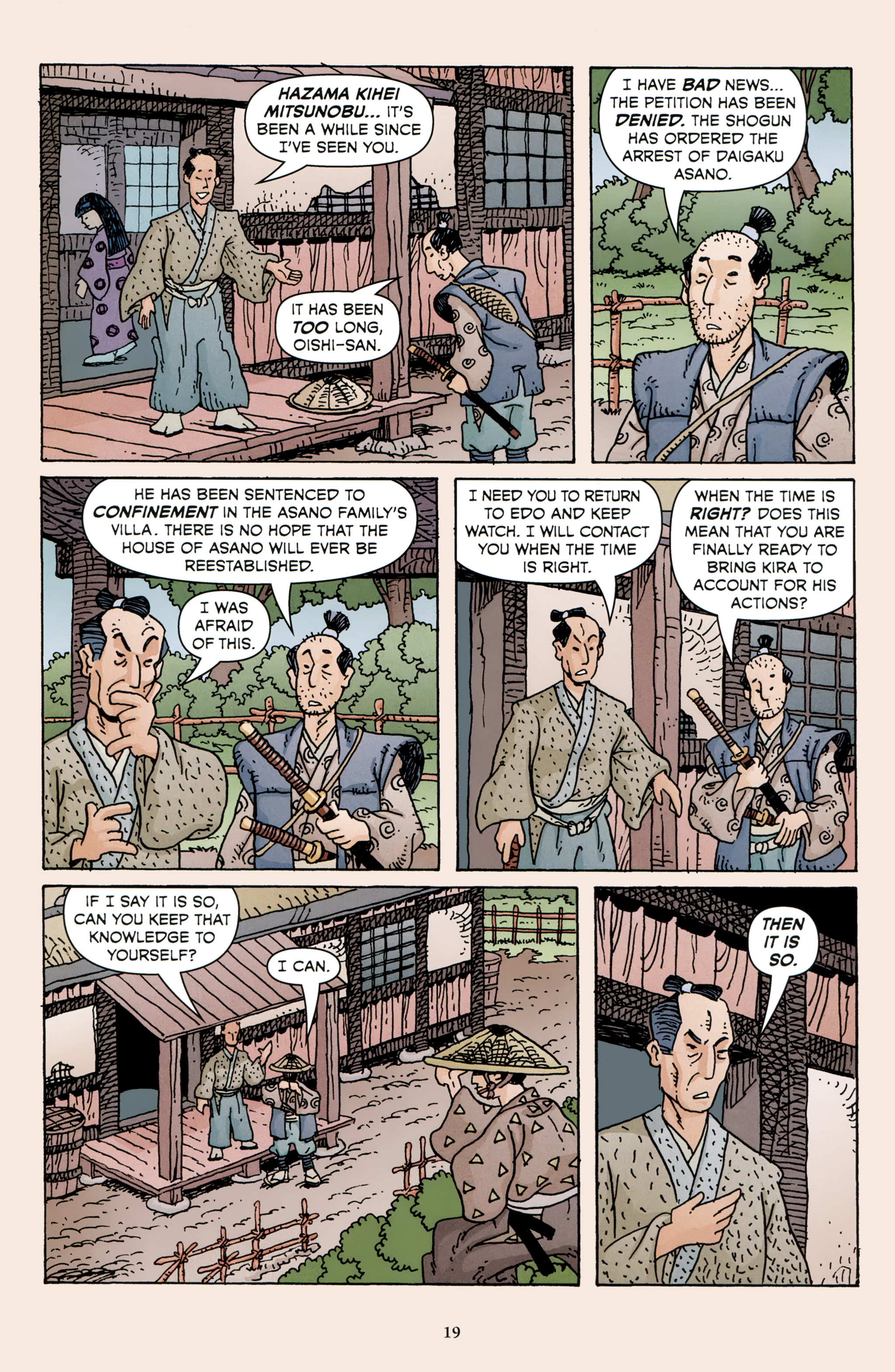 Read online 47 Ronin comic -  Issue #3 - 21