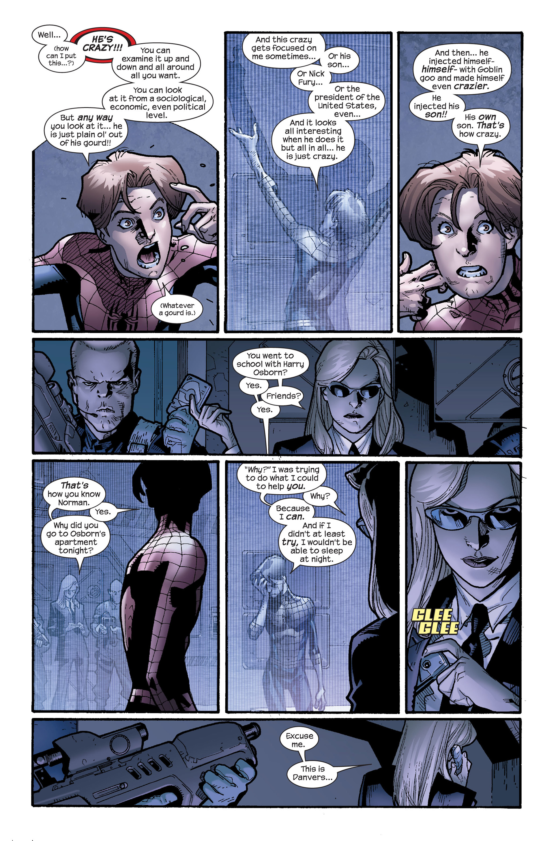 Read online Ultimate Spider-Man (2000) comic -  Issue #115 - 10