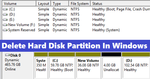 how to partition hard disk drive in windows 10