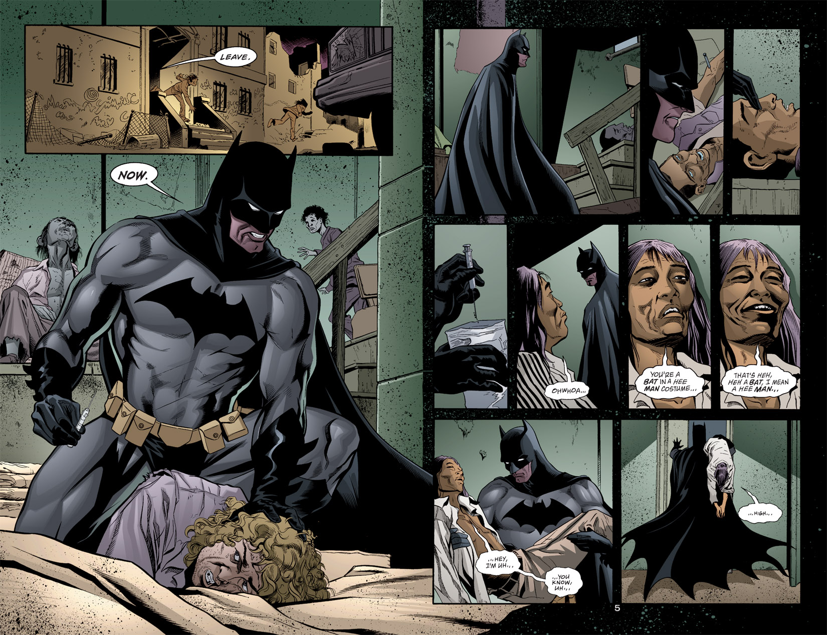 Detective Comics (1937) 768 Page 4