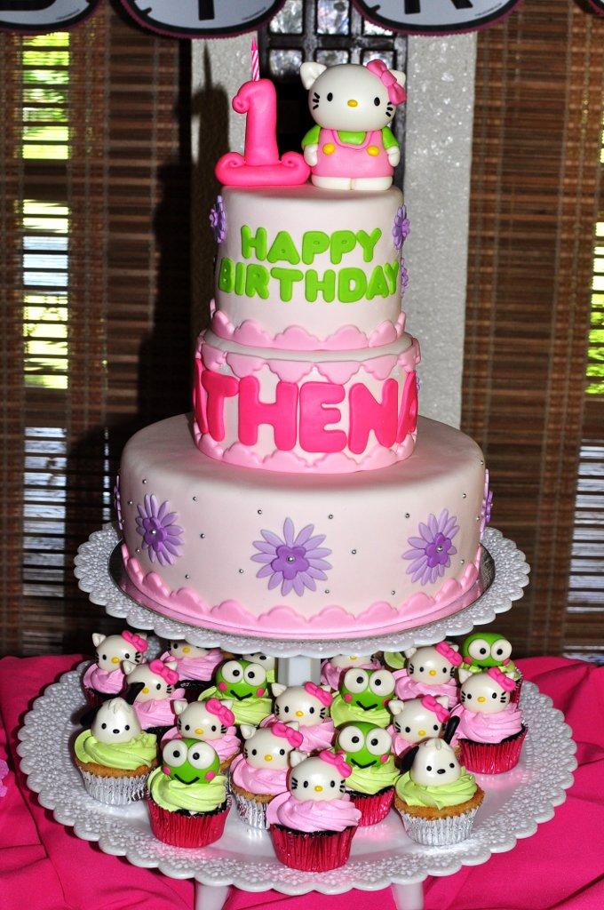 Happy Birthday Athena Cake