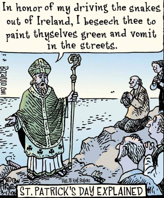 Happy St Patrick's Day Jokes 2018