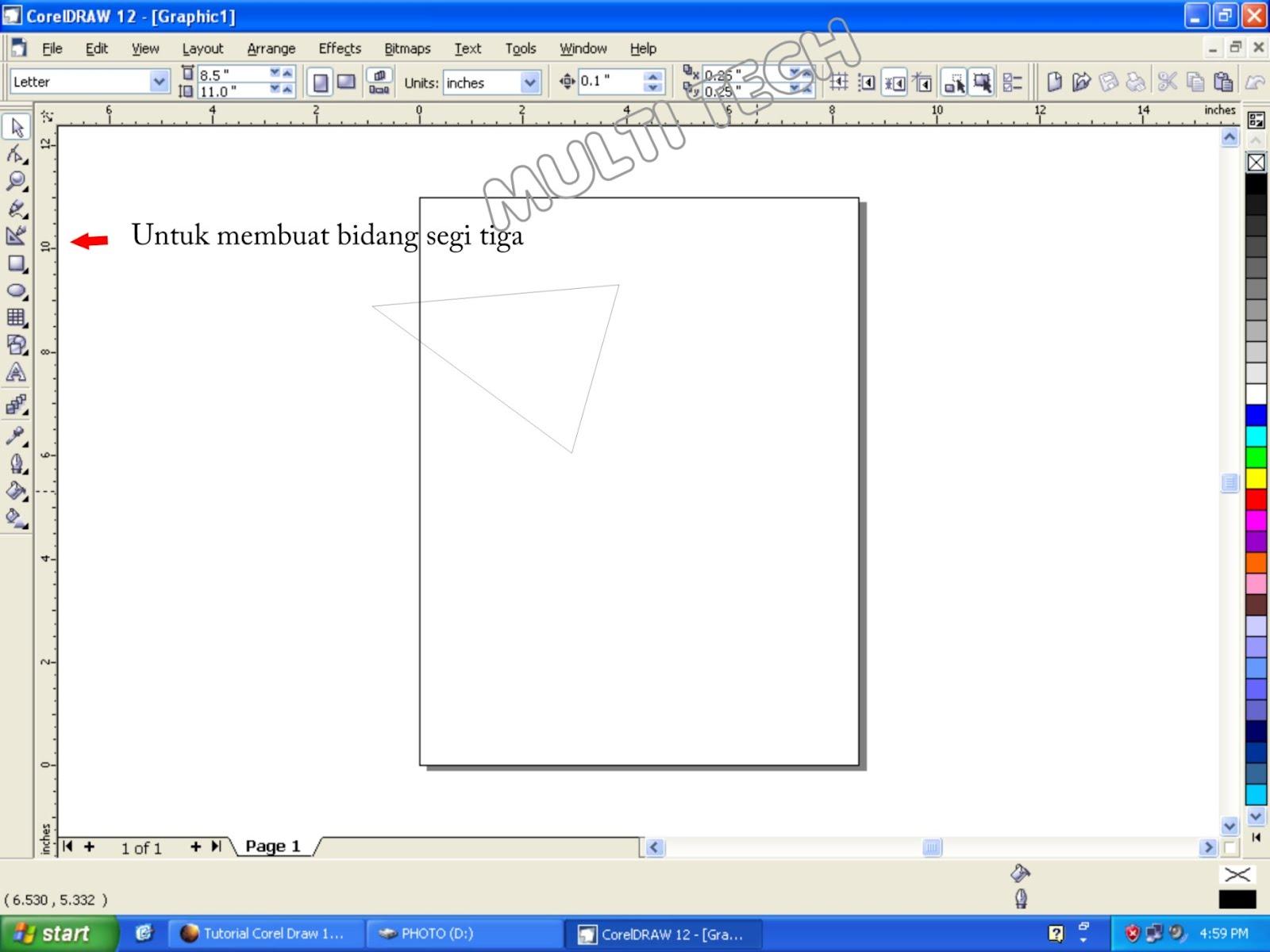 JEBONG UDIK ( Multi TECH ): Tutorial singkat CorelDRAW 12
