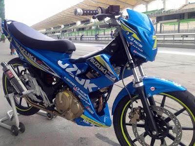 Suzuki Belang Racing Sepang Circuit