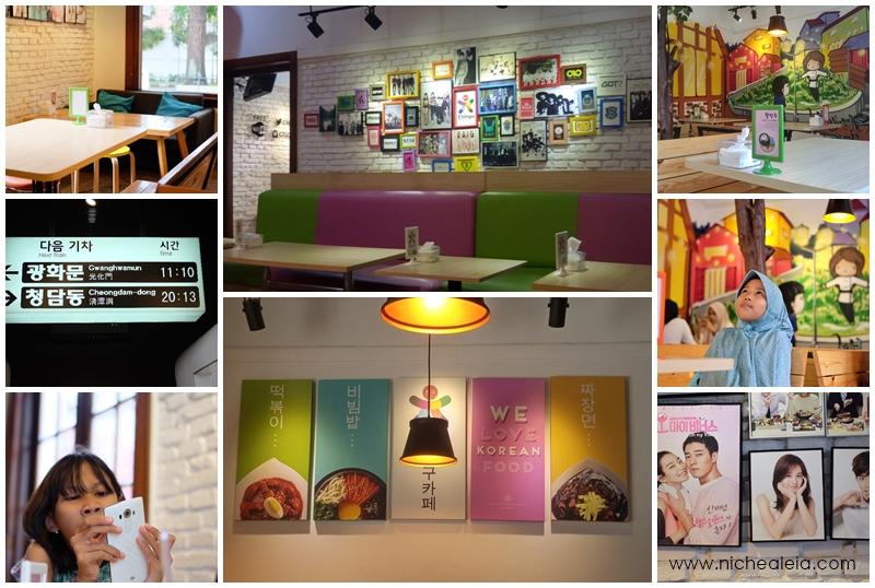 chingu cafe, cafe korea kekinian di bandung