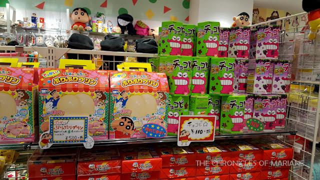 crayon shin chan store