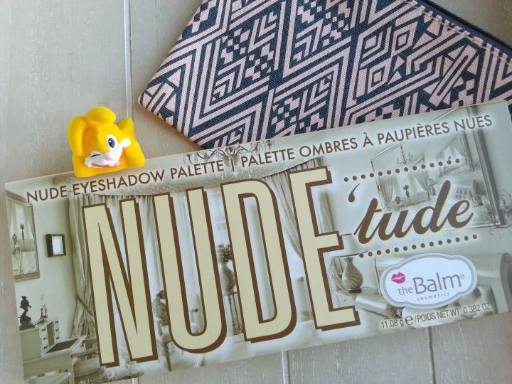 palette de maquillage nude tude de the balm