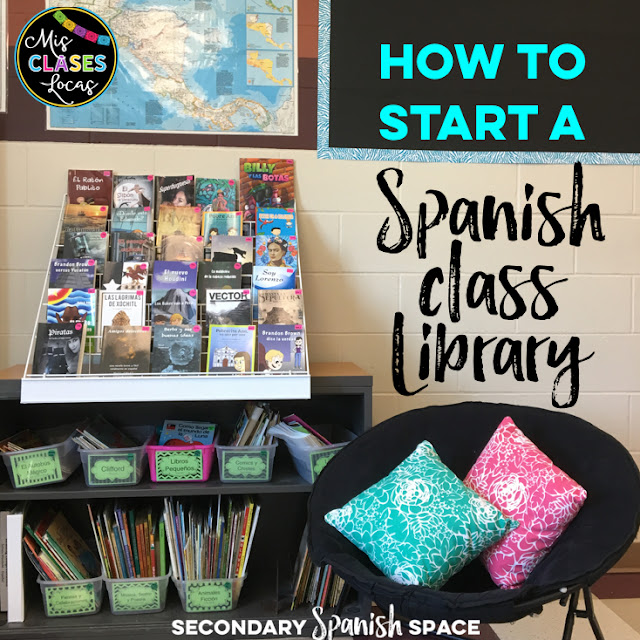 How to start a Spanish class library