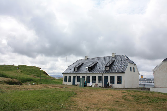 Videyjarstofa House on Videy Island is the oldest house in Reykjavik