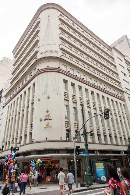 Antiga sede do Clube Curitibano