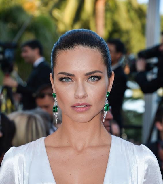 Victoria's Secret Fashion Show Model Adriana Lima at 'Julieta' Premiere at 69th Annual Cannes Film Festival