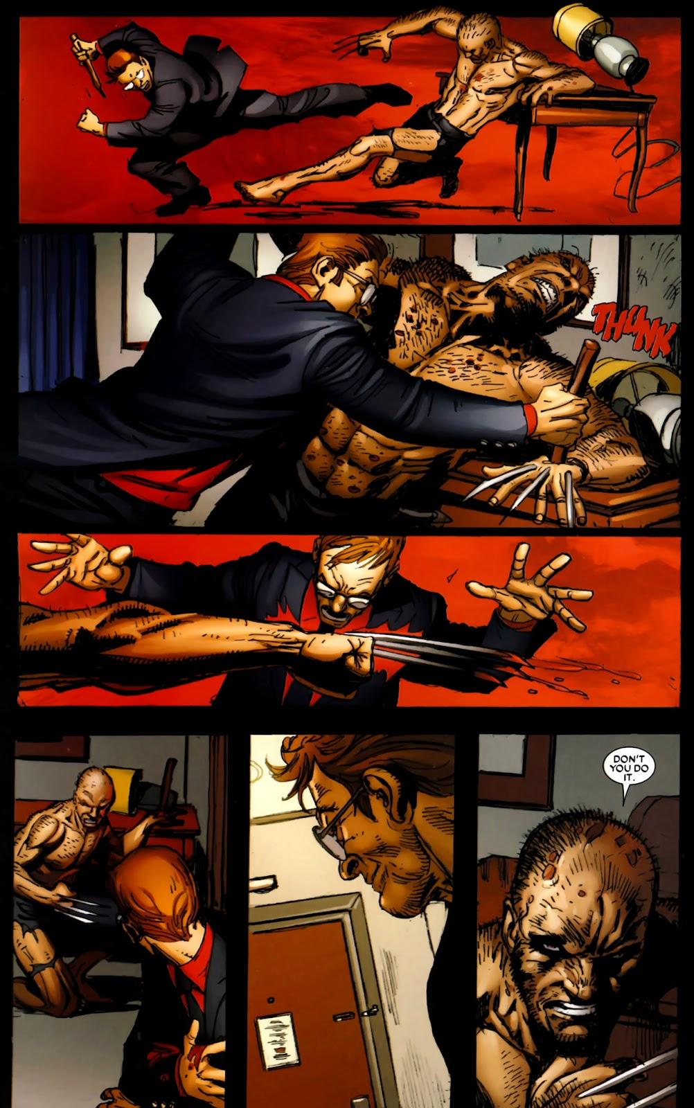 Read online Wolverine (2003) comic -  Issue #64 - 15