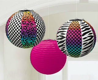 Totally 80's Paper Lanterns