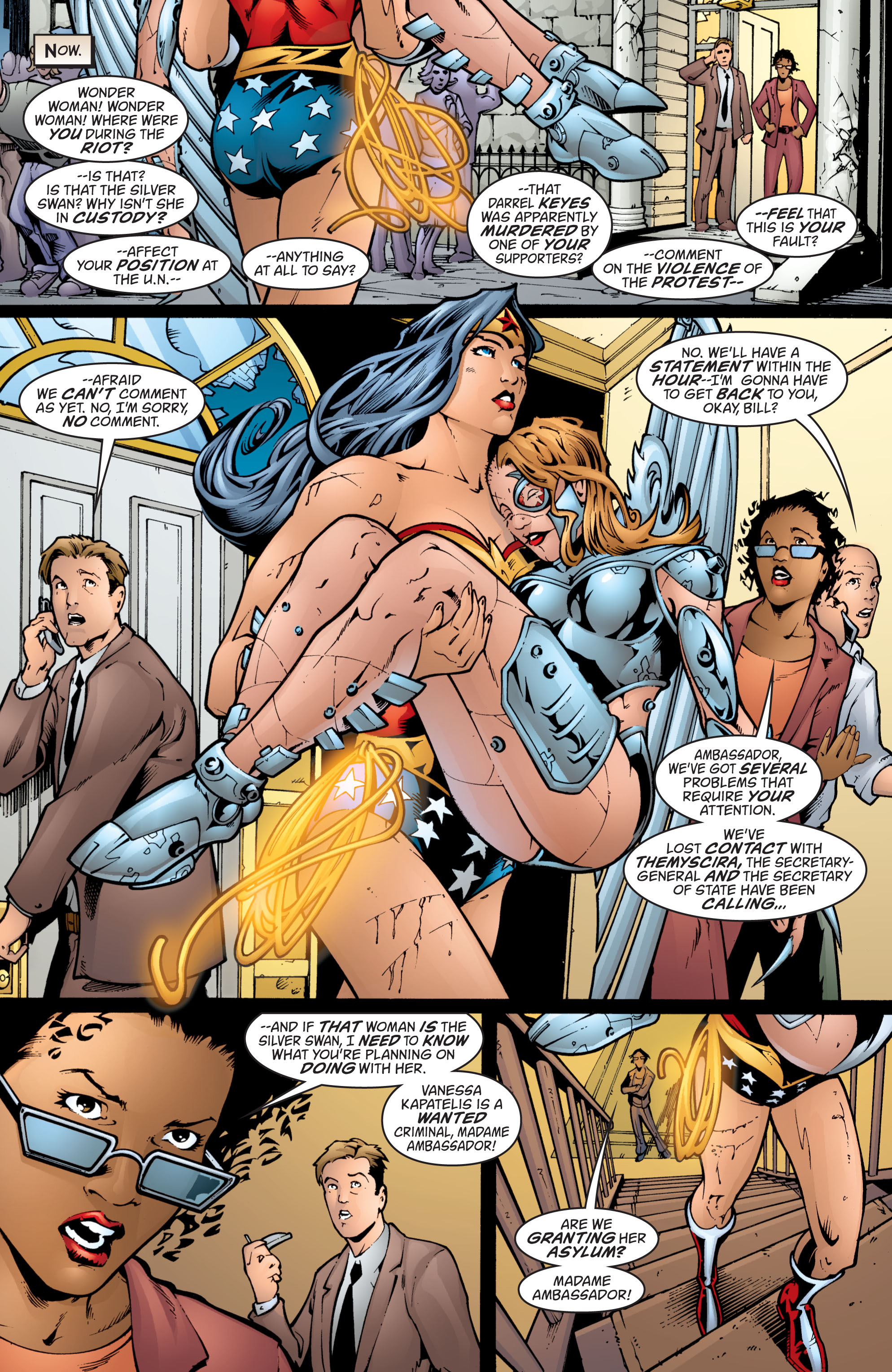 Read online Wonder Woman (1987) comic -  Issue #201 - 5