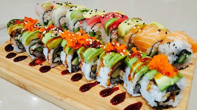 Inilah 12 Tips Menikmati Sushi Tanpa Menambah Berat Badan