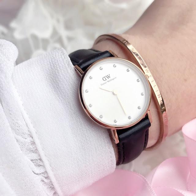 Daniel Wellington | Classy Sheffield Watch & Rose Gold Cuff