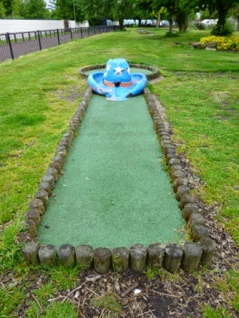 Wild Frontier Crazy Golf in Gillingham