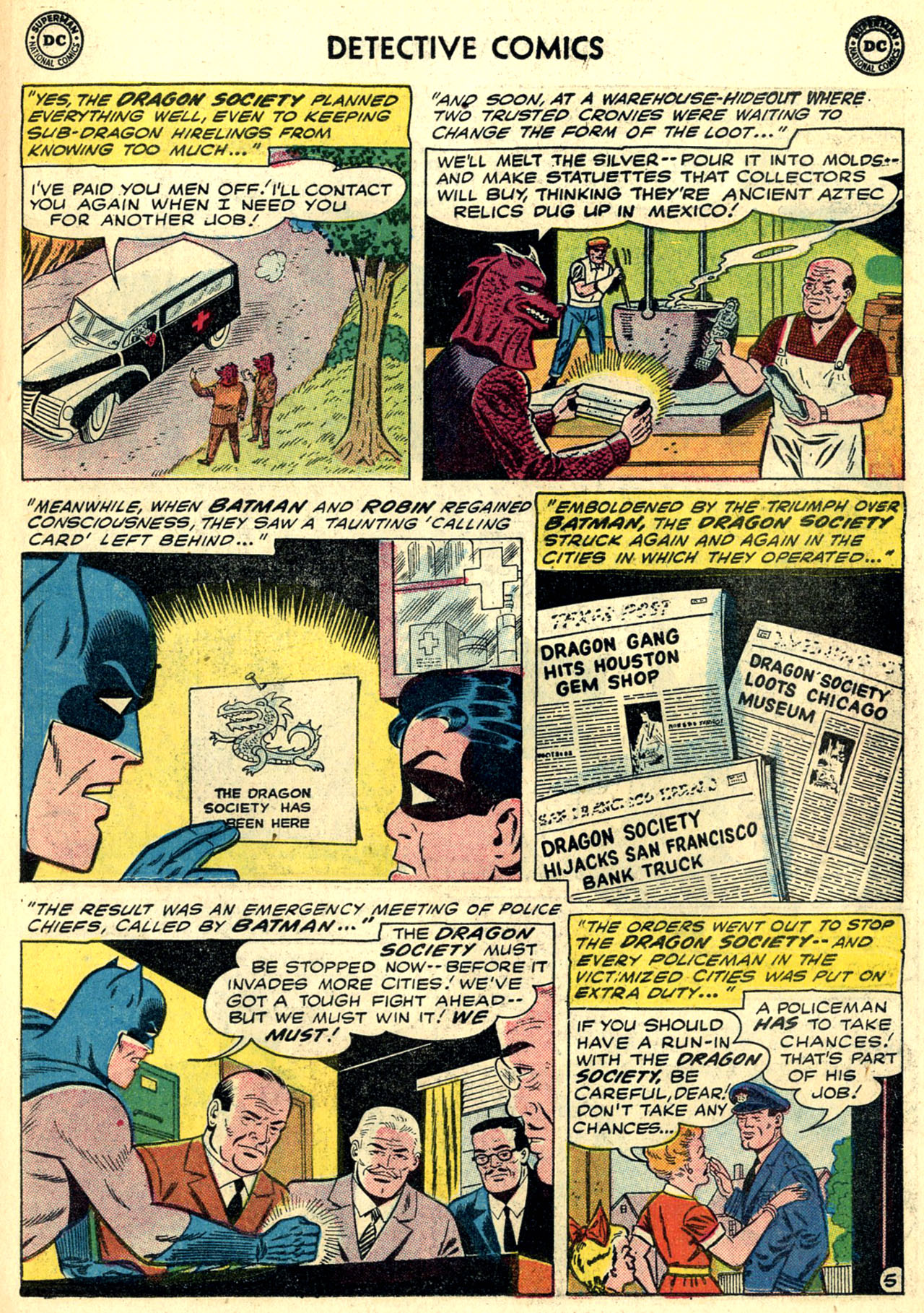 Read online Detective Comics (1937) comic -  Issue #273 - 7
