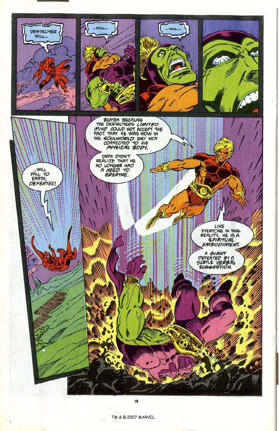 Read online Silver Surfer (1987) comic -  Issue #47 - 20