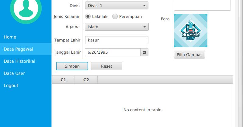 Cara Memasukan Data Gambar Ke Dalam Database Pada Javafx Javasc Developer