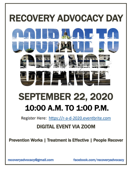 9-22 Recovery Advocacy Day