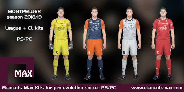 Montpellier PES Kits 2018/19