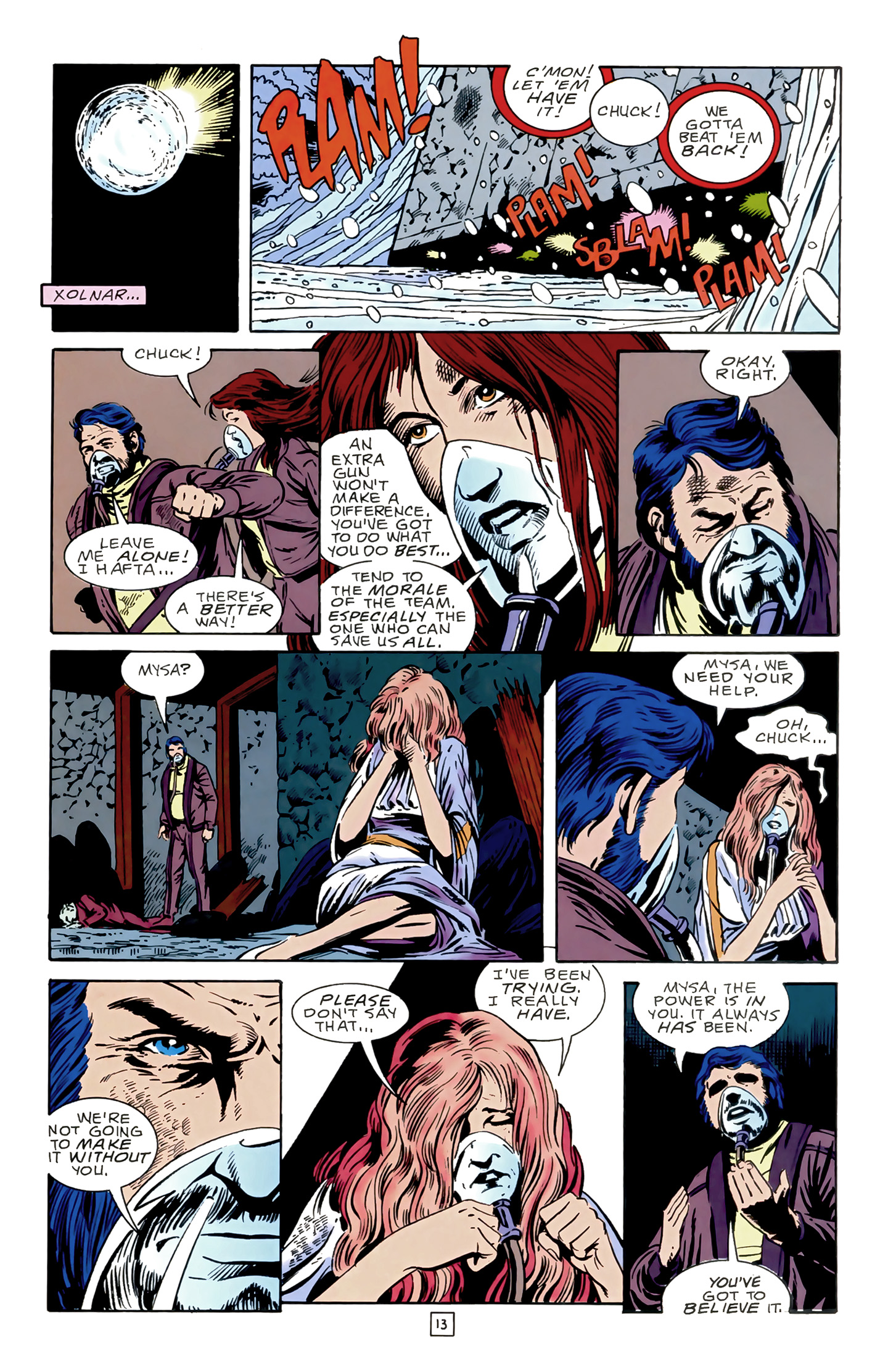 Legion of Super-Heroes (1989) 17 Page 13