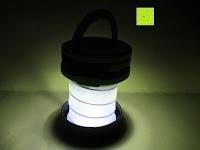 groß mit Licht: OUTAD 2-in-1 Outdoor Wireless Bluetooth Lautsprecher & LED Lampe mit eingebautem Mikrofon, einstellbarem Licht und Broadcom 3.0