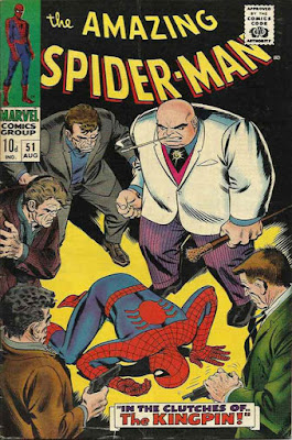 Amazing Spider-Man #51, the Kingpin