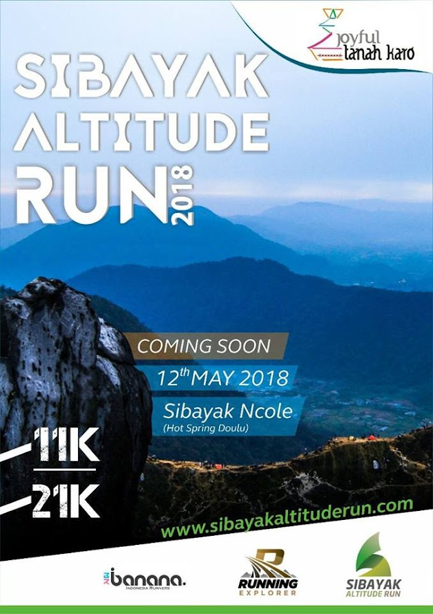 Sibayak Altitude Run • 2018
