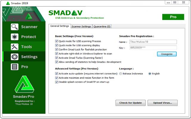 Smadav PRO 2019 version 12.6.2 F.u.l.l - Phần mềm diệt virut an toàn và bảo mật