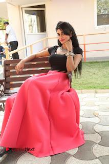 Telugu Actress Harini Stills at Dhyavudaa Movie Teaser Launch  0364.JPG