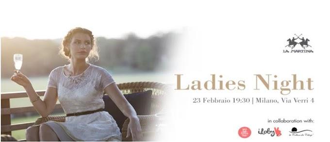 """""""Milano Ladies Night"""" L'evento di La Martina durante la Settimana della Moda"""