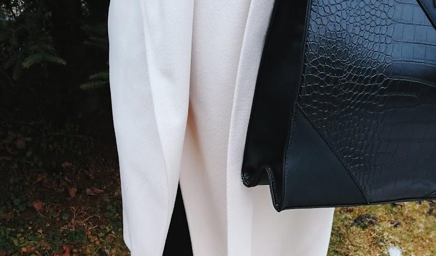 Elegancko w płaszczu Gaudi. STYLIZACJA DNIA