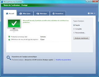 Microsoft Security Essentials, l'antivirus gratuit de Microsoft