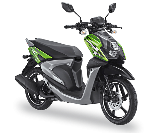 All New X-Ride 125 Blue Core Explorer Green
