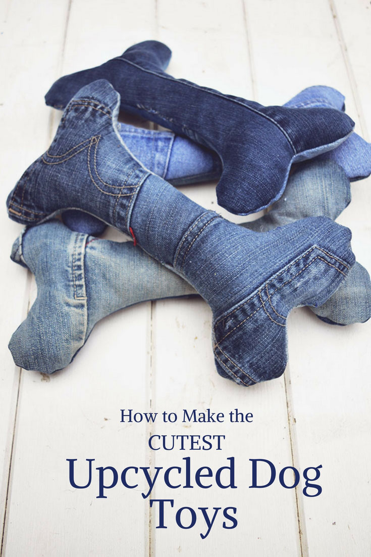 How To Make Dog Toys Out Of Old Jeans