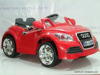 1 Mobil Mainan Aki JUNIOR JB28 Audi - 2 Kursi