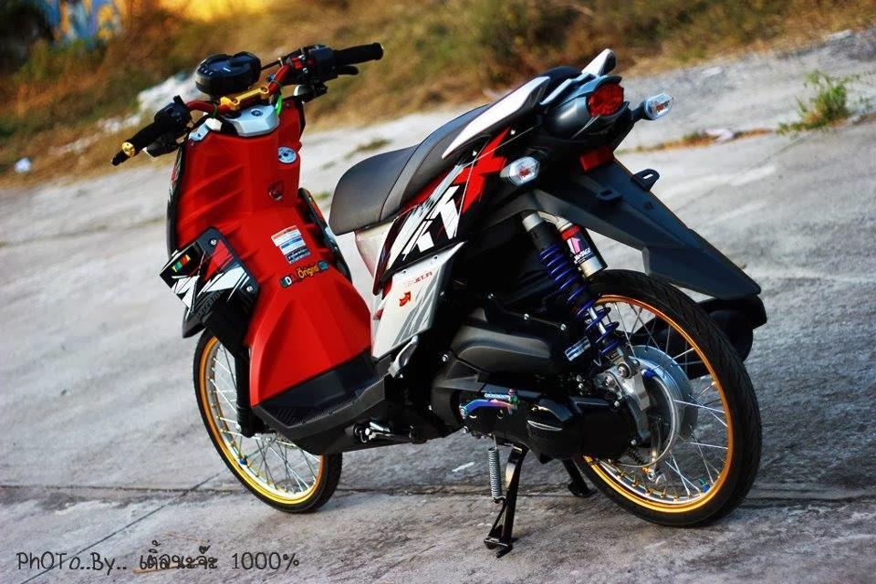 Modifikasi Motor X Ride Thailook Blog Motor Keren
