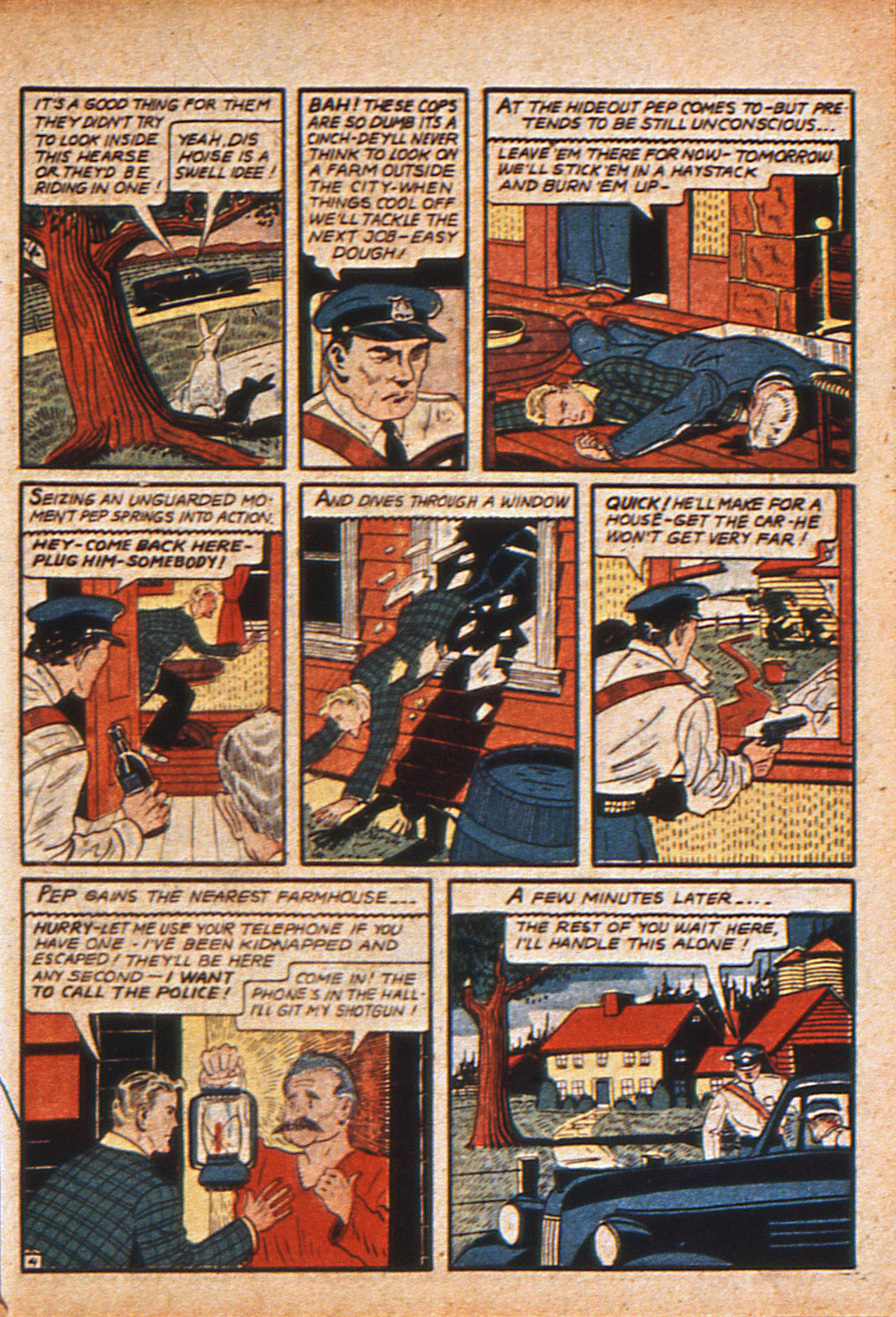 Read online Action Comics (1938) comic -  Issue #15 - 22