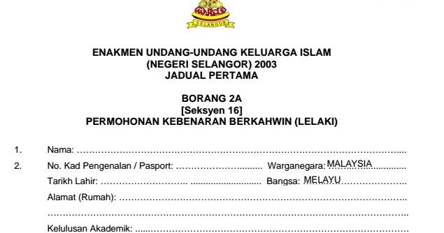 Desain Pernikahan Prosedur Pernikahan Di Selangor