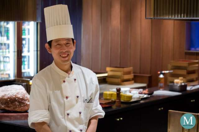Chef Junya Ishihara of SH'UN Restaurant at Swissôtel Nankai Osaka