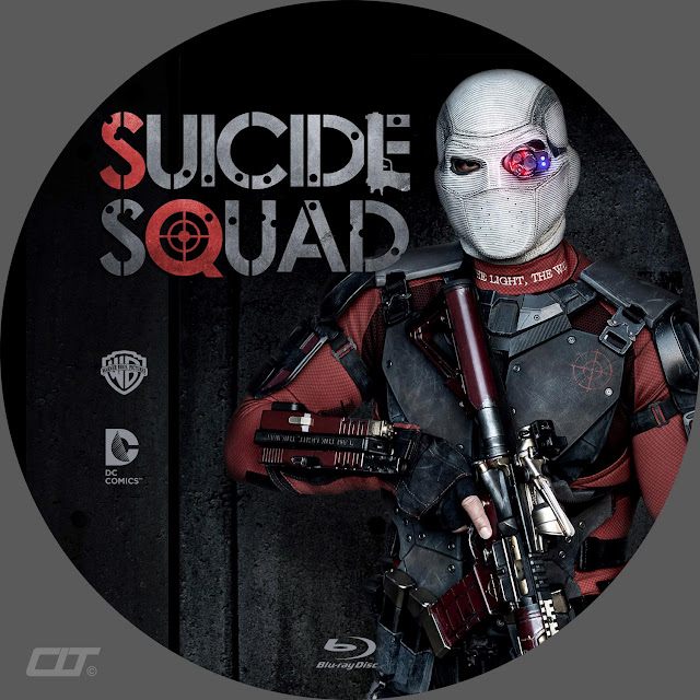 Suicide Squad Bluray Label