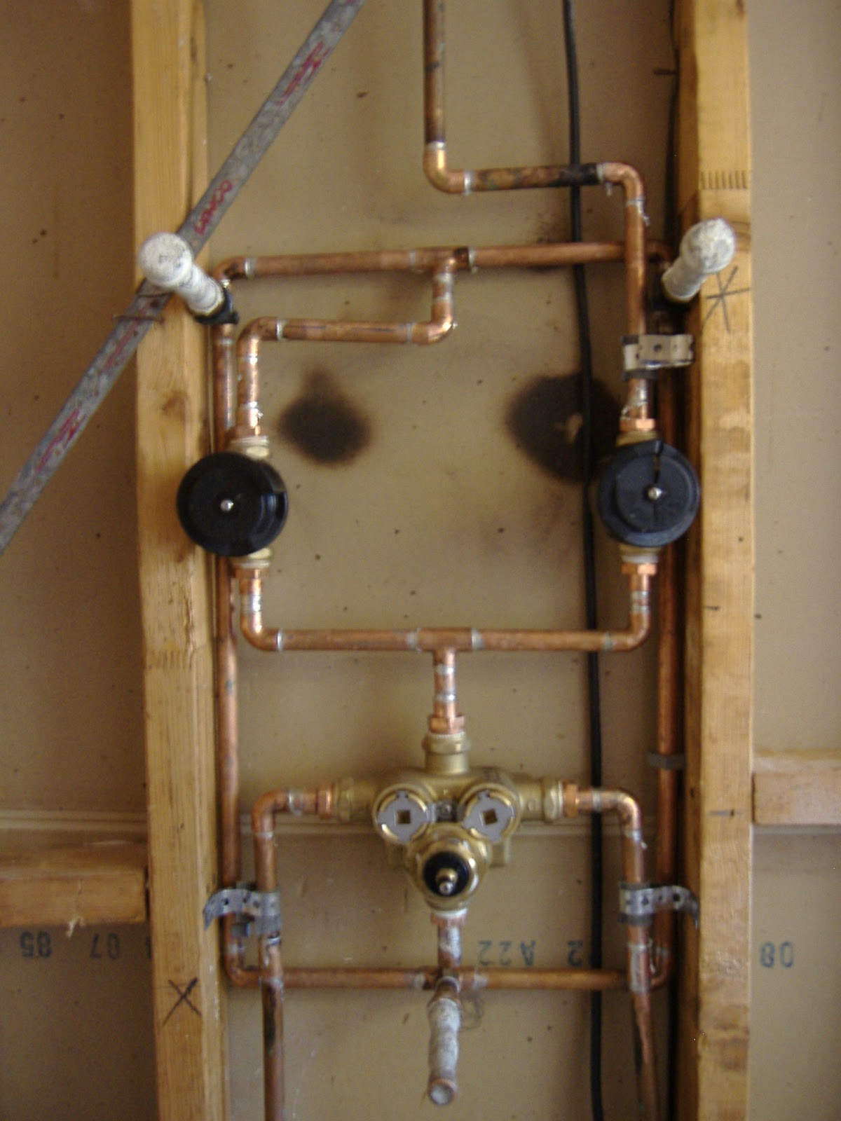 shower diverter valve diagram 1973 vw beetle headlight switch wiring plumbing valves with
