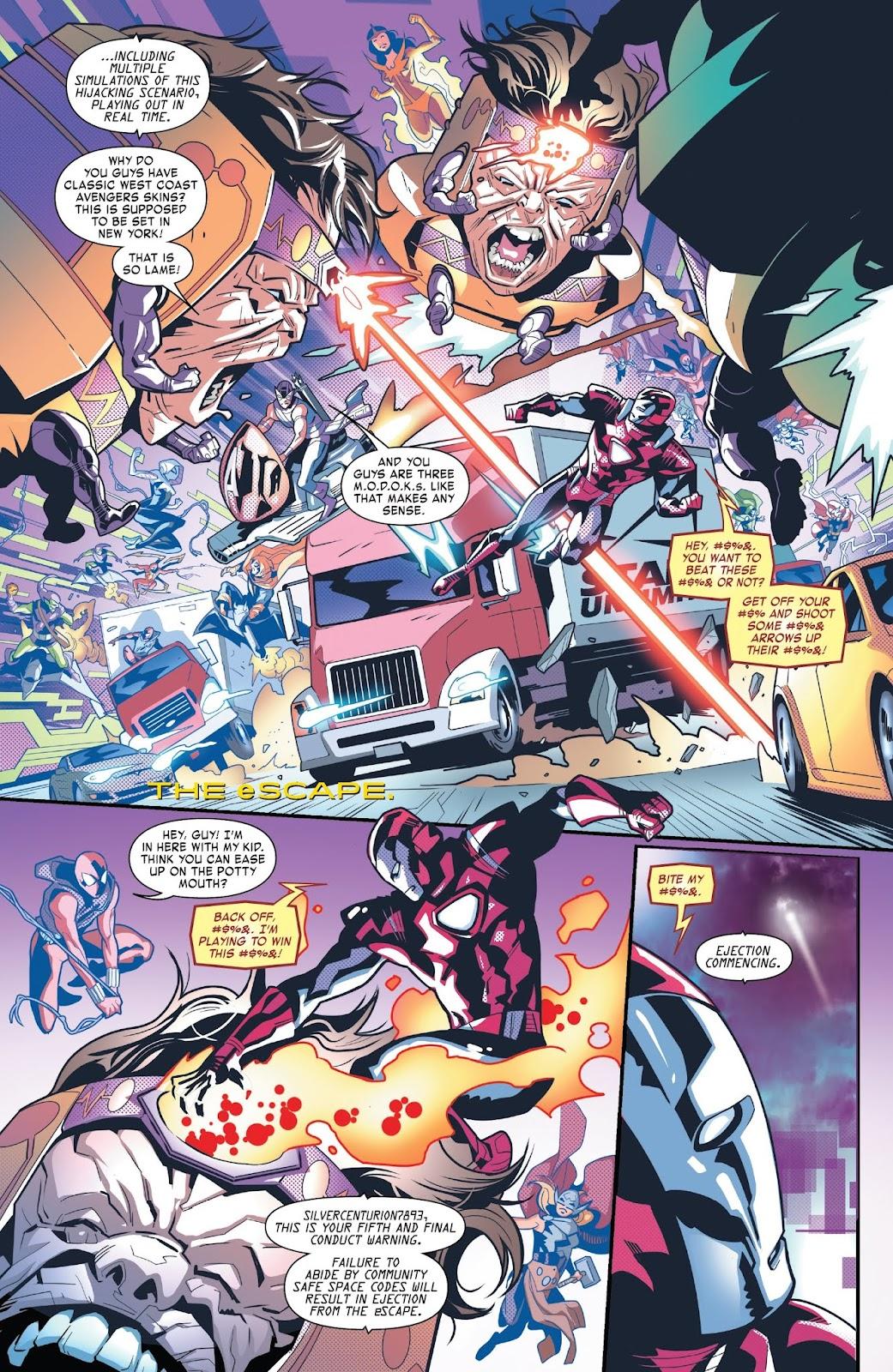 Read online Tony Stark: Iron Man comic -  Issue #6 - 8