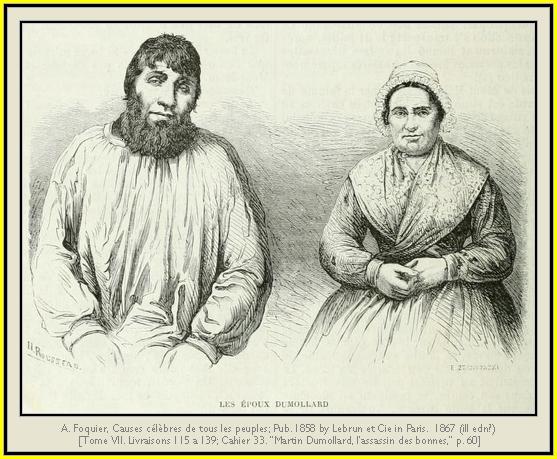Resultado de imagen de Dumollard, Martin y Marianne