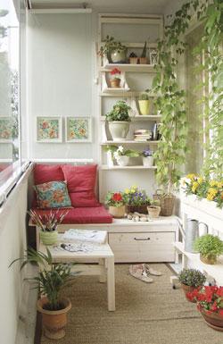 siedzisko balkonowe