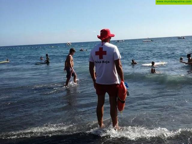 Cruz Roja está presente este verano en 22 playas de la provincia tinerfeña